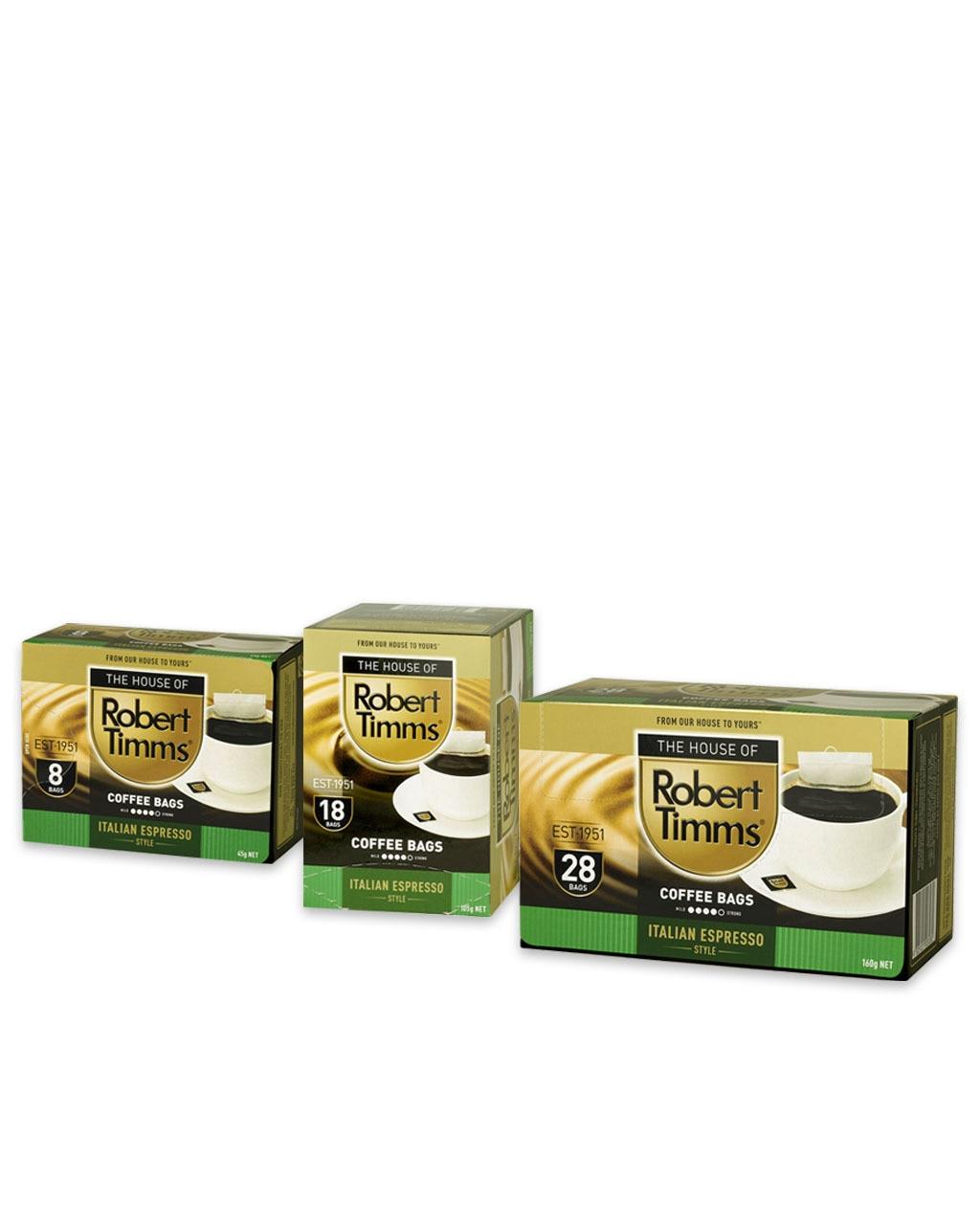 Italian Espresso Coffee Bags