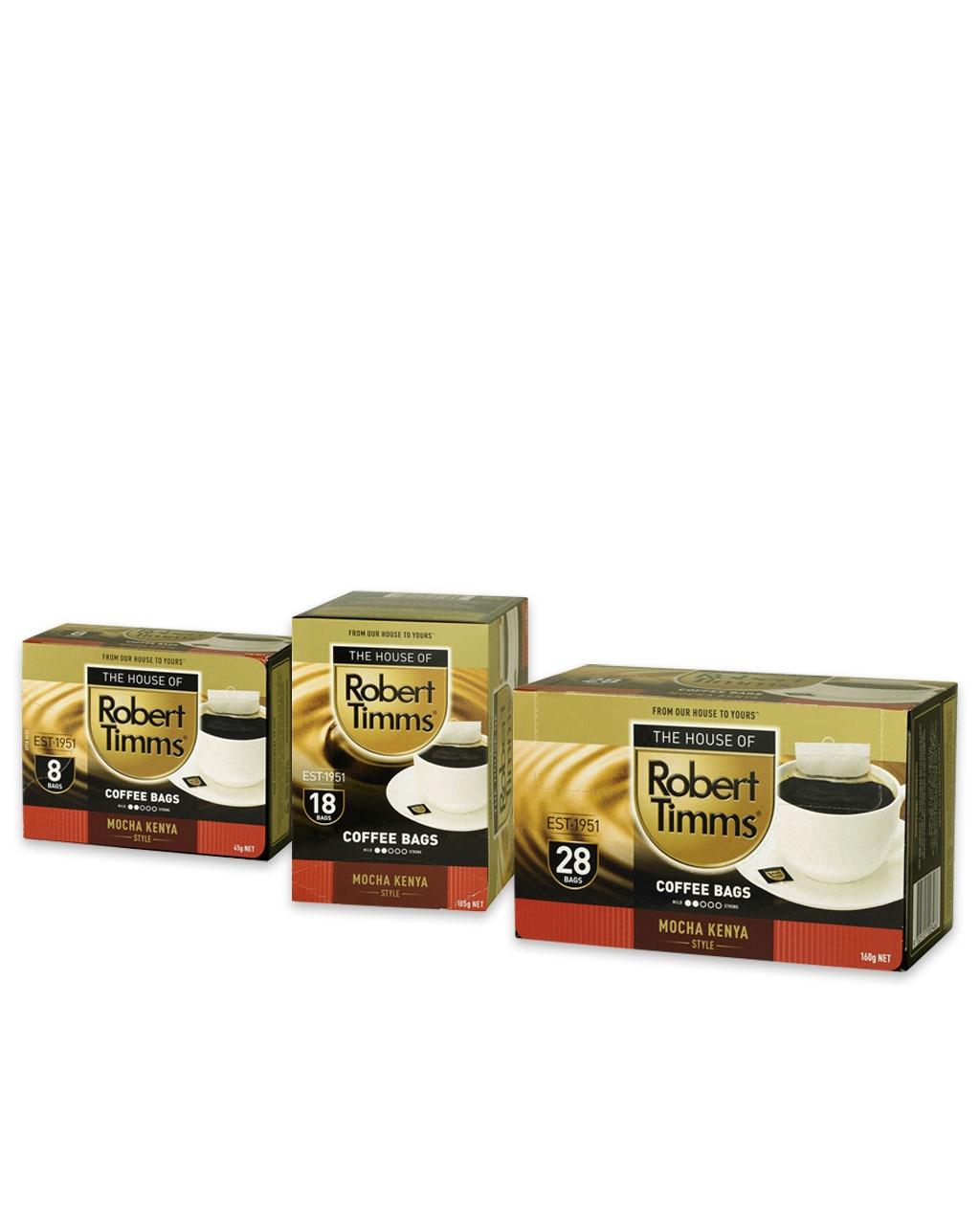 Mocha Kenya Coffee Bags