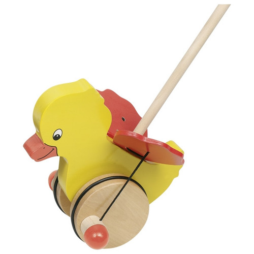 Goki Tweedy Duck push along