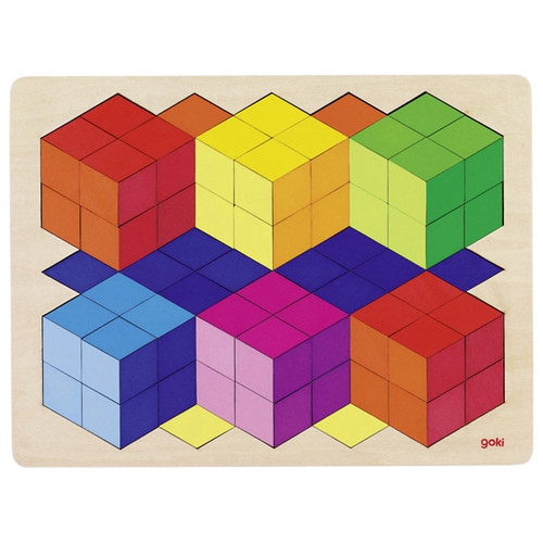 Goki 3D illusion puzzle 86 piece