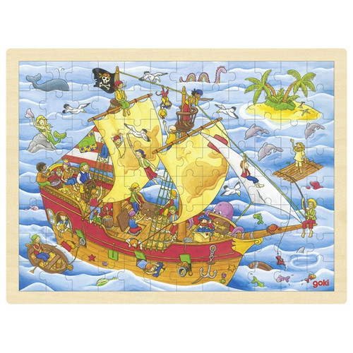 Goki pirates puzzle 96 piece