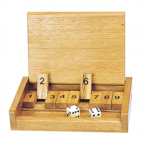 Goki Shut the Box game - travel version