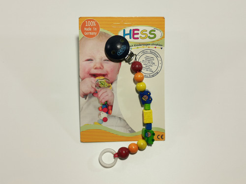 Hess soother chain rainbow chain