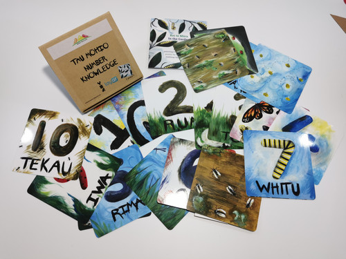 Tau Mōhio - Number Knowledge Te Reo numeracy cards
