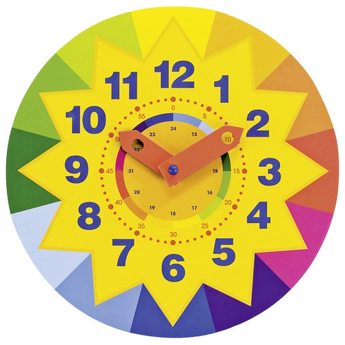 Learn to tell the time clock - sun