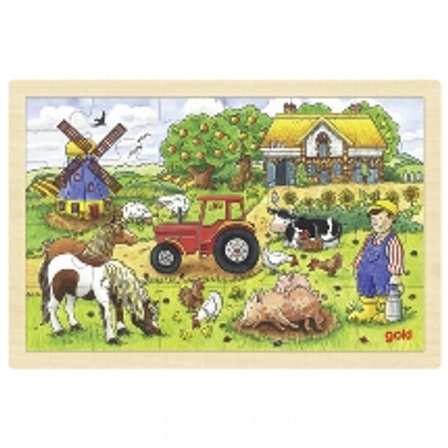 Mr. Miller's Farm Puzzle - 24 piece