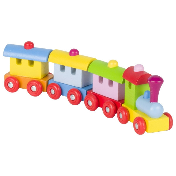 Goki train with magnetic coupling