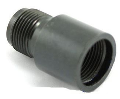 Silencer Adapter 14Mm- To 14Mm+ Ccw To Cw Fast Uk Delivery