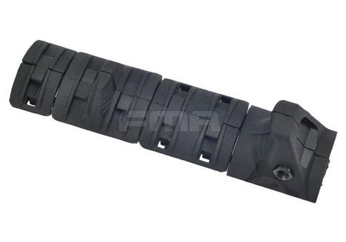 Aeg Handguard Hand Stop Rail Cover Panels Kit Set Ris Grip Black
