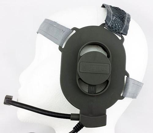 Tomtac Bowman Elite Ii 2 Headset Boom Mic Grey Green Helmet Radio Uk