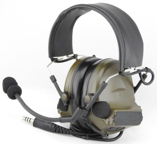 Tomtac Comtac Ii 2 Headset Mic Boom Radio Peltor Design Od Green