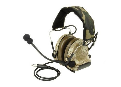 Ztactical Zsordin Headset Mic Boom Radio Peltor Comtac 2 Aor1