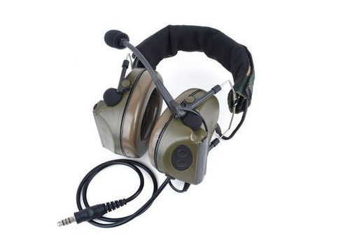 Z Tactical Zsordin Headset Mic Boom Radio Peltor Comtac 2 Woodland Uk