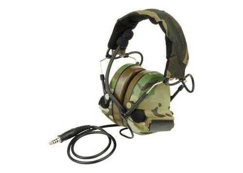 Ztactical Zsordin Headset Mic Boom Radio Peltor Comtac 2 Multicam Mtp Mc
