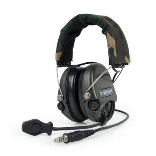 Z Tactical Sordin Headset Mic Boom Radio Woodland Uk