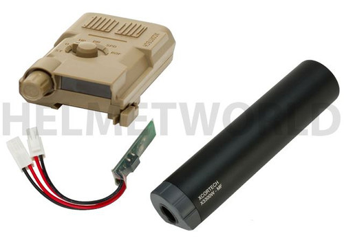 Xcortech X3300W Tracer Unit Torch Bb'S Chronograph Mosfet All In 1 Tan V2