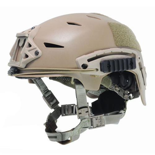 Bump Type Helmet Tan Sand De Abs Marsoc Ussf Ops Core