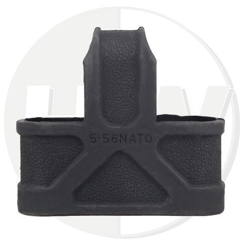 M4 Magazine Nato 5.56 Rubber Clip Ring Pull Black Swat