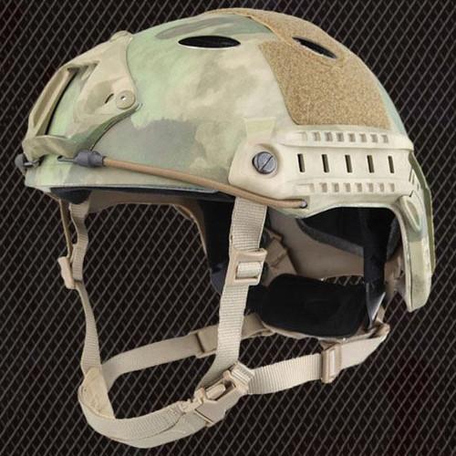 Carbon Pj Type Ops Core Fast Base Jump Helmet Atac Fg With Arc Rails