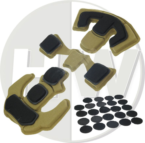 Ops Core Lux Liner Style Upgrade Helmet Padding Pad Set Bump Pads