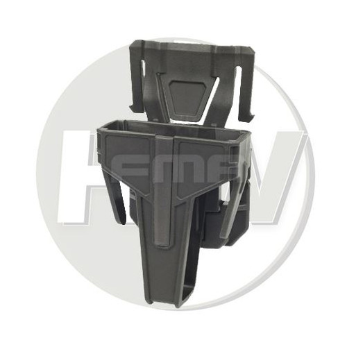 Fma Nylon Fsmr Locking Magazine Pouch For M4 5.56 Molle Type Od Green