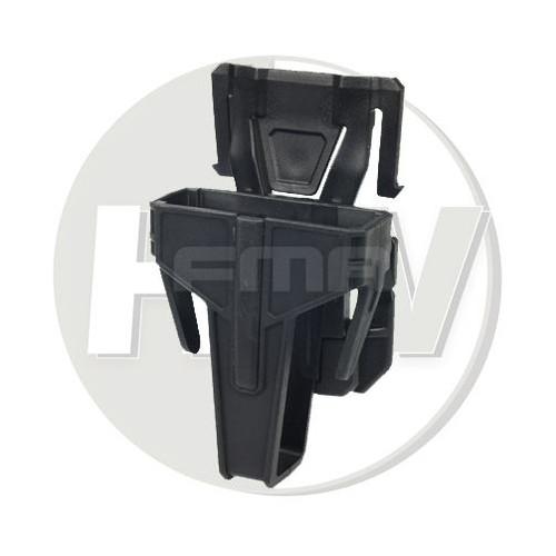 Fma Nylon Fsmr Locking Magazine Pouch For M4 5.56 Molle Type Black