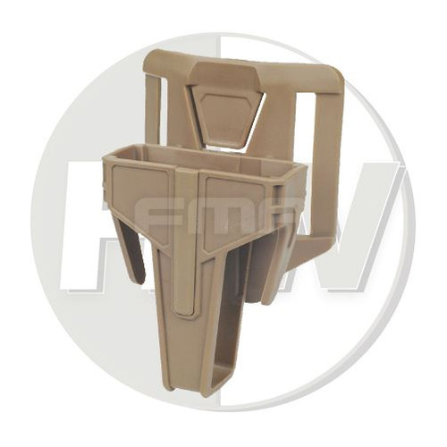 Fma Nylon Fsmr Locking Magazine Pouch For M4 5.56 Belt Type Tan De