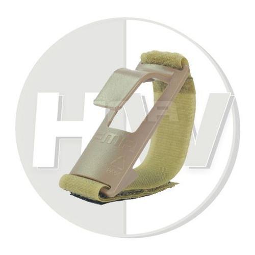 Shoulder Mount Sling Fixed Anchor Hook Clip Molle Chest Rig Tan De