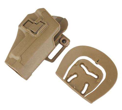 Cqc Serpa Pistol Belt Hard Holster For Sig P220 P226 Tan Sand De Uk