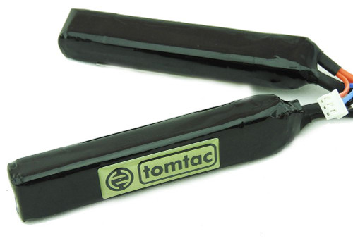 Battery 7.4V 20-25 C 2000Mah Lipo Tamiya Tomtac 2 Cell Cranestock