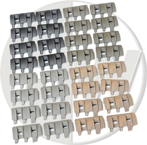 Rail Panels Covers Acm Ftm Black Tan Green 32 Pcs Ris De Fg Od