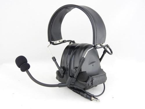 Tomtac Comtac Ii 2 Headset Mic Boom Radio Peltor Design Black