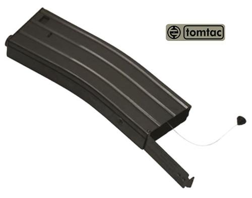 M Series Metal Black Flash Magazine Mag 360Rds Asg Pull Cord Tomtac