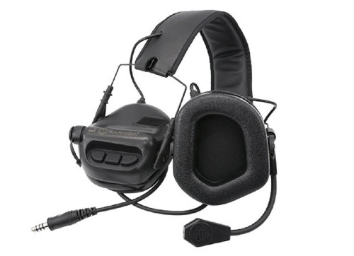 Tomtac Sordin Earmor Headset Mic Boom Radio Msa Design  Black