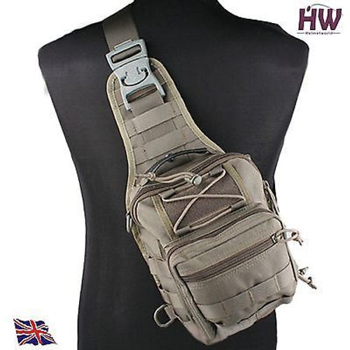 1000D Utility Molle Tactical 3 Ways Shoulder Bag Pouch Backpack Green Od