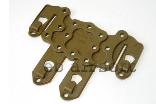 Cqc Serpa Pistol Molle Platform For Hard Holster Dark Tan De Uk Delivery