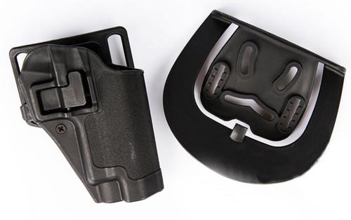 Cqc Serpa Pistol Belt Hard Holster For Sig P220 P226 Black Uk