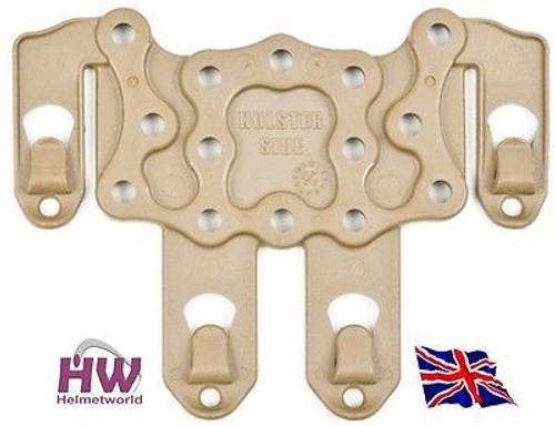Cqc Serpa Pistol Molle Platform For Hard Holster Tan Sand De Uk Delivery