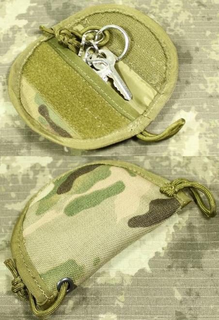 Multicam Mc Mtp Molle Key Silencer Pouch  Pocket Uk Cordura