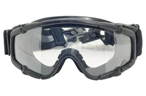 Paintball Ops Core Jump Helmet Rail Clear Si Goggles Glasses Black Swat