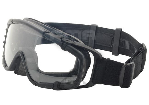 Paintball Ops Core Jump Fan Anti Fog Clear Si Goggles Glasses Black Swat