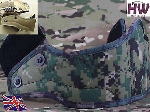 Ops Core Mich Af Tactical Helmet Front Guard Protector Aor2 Jungle Digi