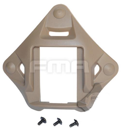 Ops Core Helmet Tan Sand De Plastic Vas Shroud 4 Nvg Wilcox Pvs 15 18
