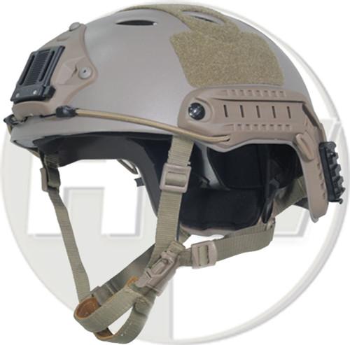 Carbon Pj Type Ops Core Fast Base Jump Helmet Tan Sand De With Arc Rails