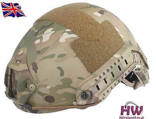 Mh Type Ops Core Fast Base Jump Helmet Multicam Mtp With Arc Rails