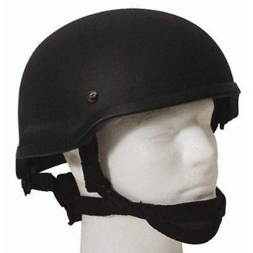 Mich 2002 Tactical Helmet Black Fibreglass Uk