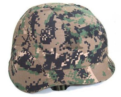 M88 Tactical Cover Digi Woodland Helmet Paintball Uk Mtp