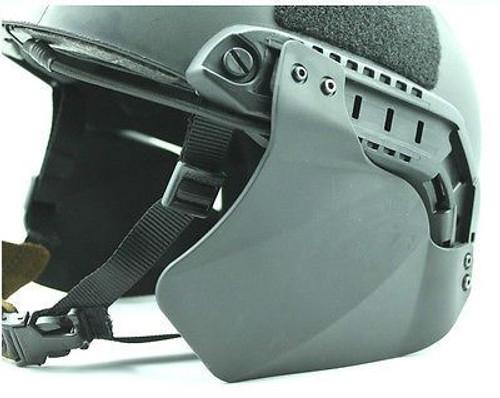 Ops Core Tactical Helmet Black Swat Mich Blt Jump Side Panels Uk Rail