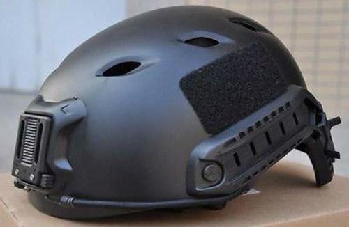 Black Swat Core Ops Tactical Helmet Jump Uk Fast Delivery Rail