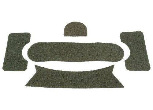 Fma Ops Core Helmet Replacement Velcro For Manta Strobe Etc Green Od Fg